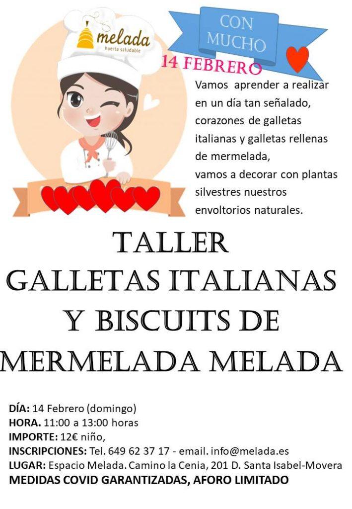 Taller Melada San Valentín