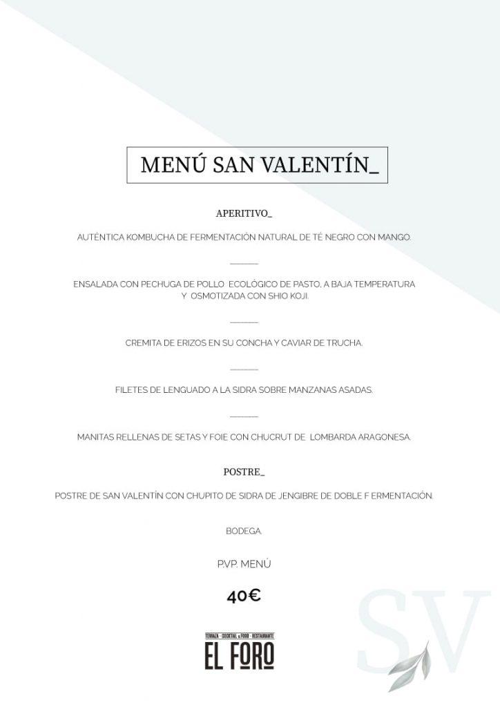 san Valentin Foro