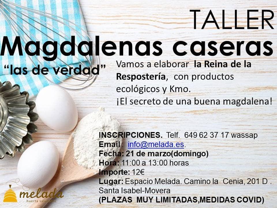 Taller de magdalenas caseras - Huerta Melada