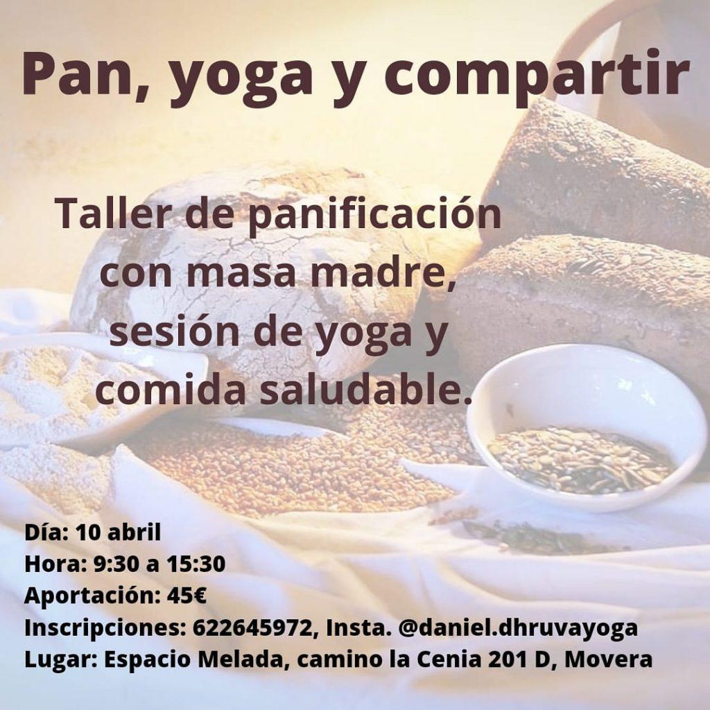 Huerta Melada: pan, yoga y compartir