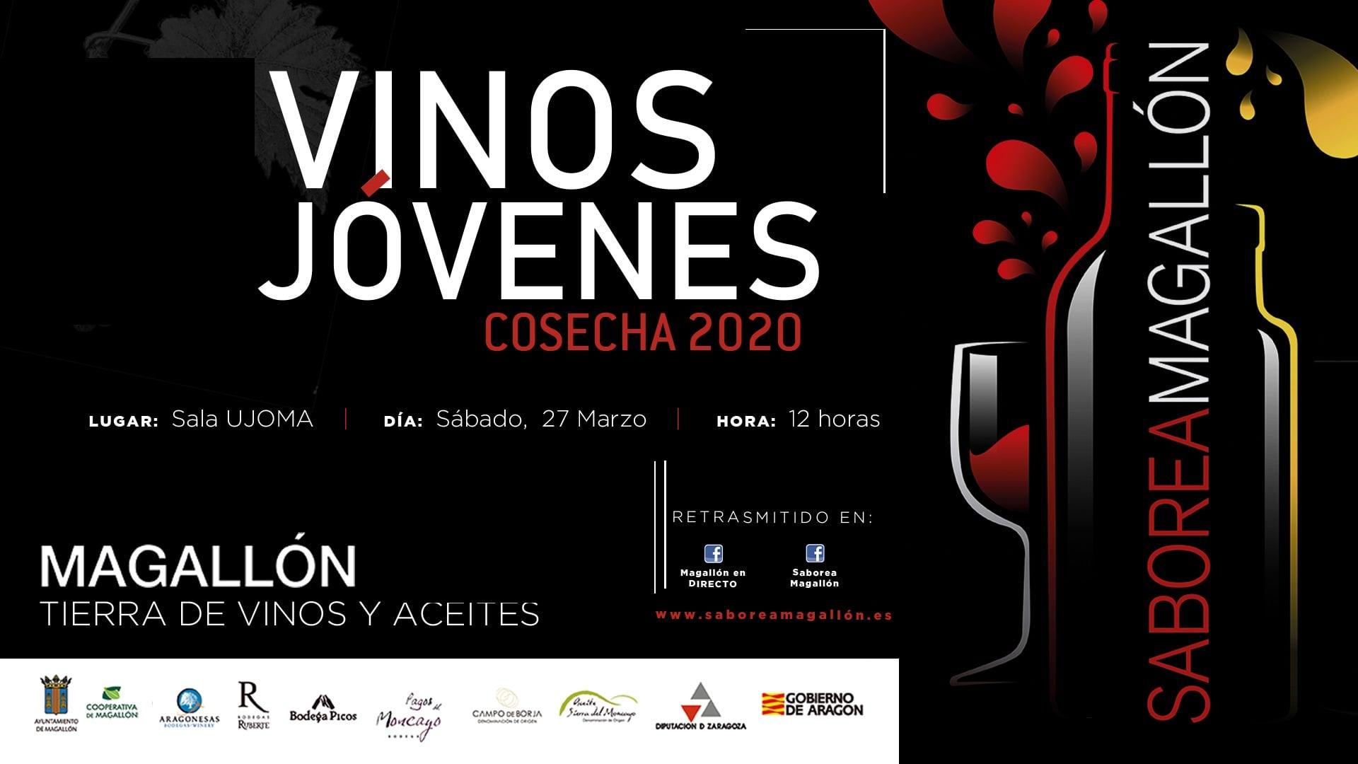 Saborea Magallón - Cata de vinos jóvenes 2020