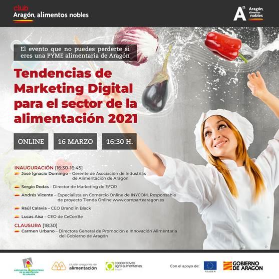 Tendencias de Marketing Digital para el sector de la alimentación 2021