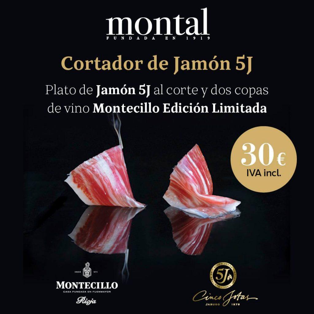 Cortador de jamón en Montal