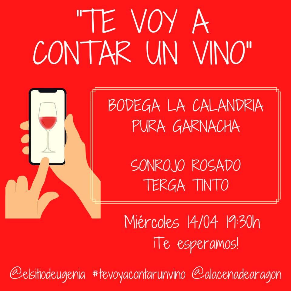 Te voy a contar un vino  - Alacena de Aragón