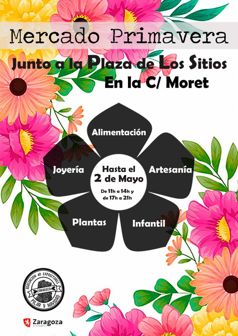 Mercado Moret primavera