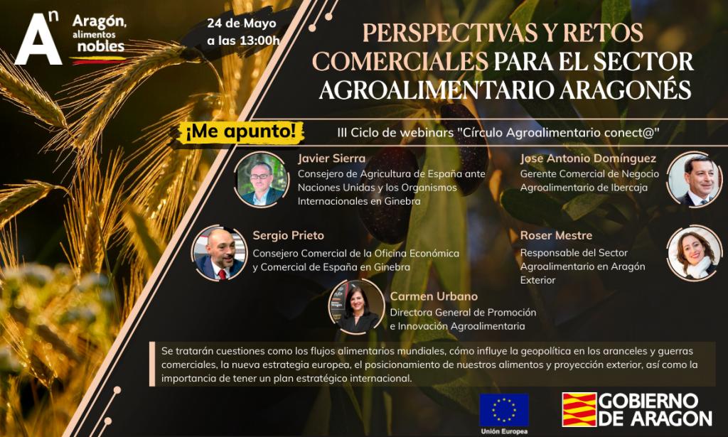 Perspectivas y retos comerciales para el sector agroalimentario aragonés