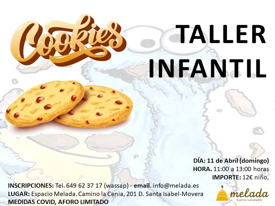 Taller infantil de galletas - Huerta Melada