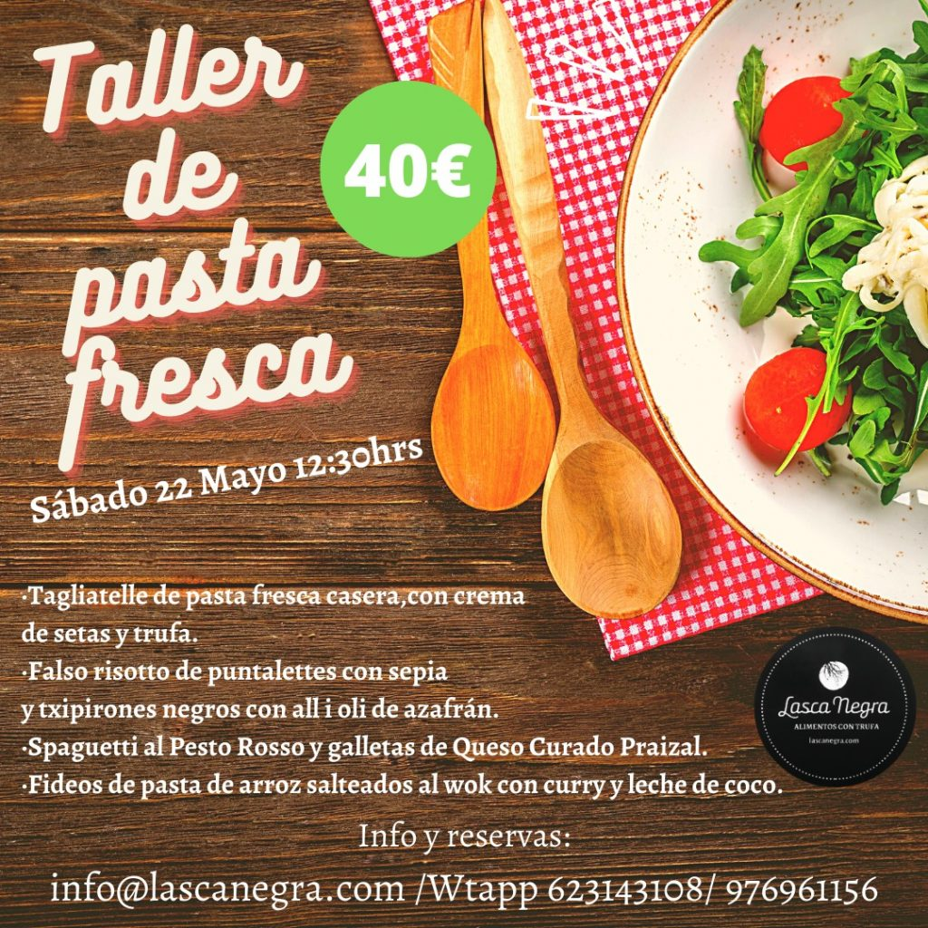 Taller de Pasta Fresca - Lasca Negra