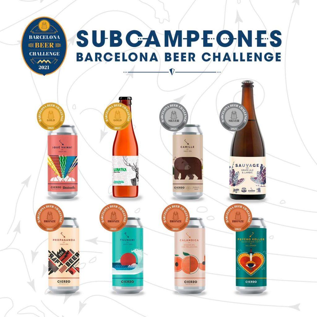 Cierzo Brewing - Barcelona Beer Challenge 2021