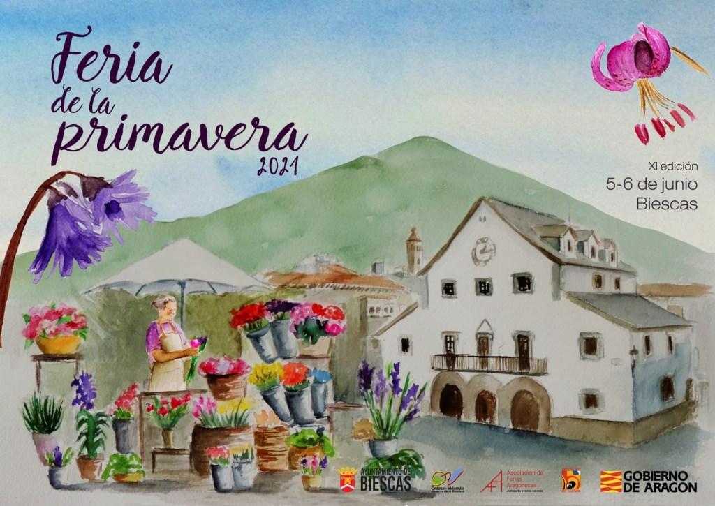 BIESCAS-cartel-feria-de-la-primavera-5-Y-6-JUNIO-2021