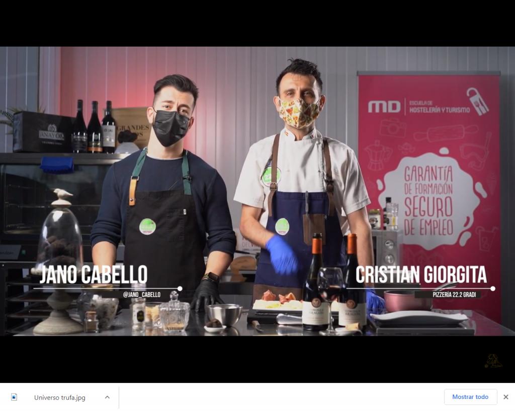 Cocinar con trufa video