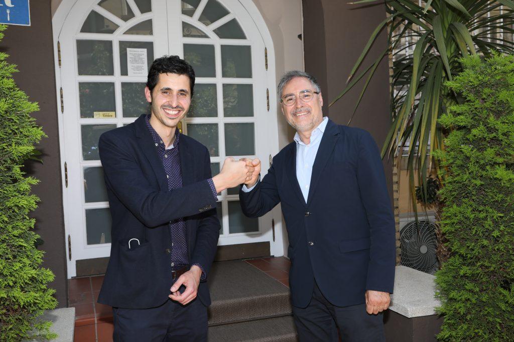 Pablo Villacampa y Carmelo Bosque- Asociación Provincial Hostelería y Turismo mayo 21 (2)