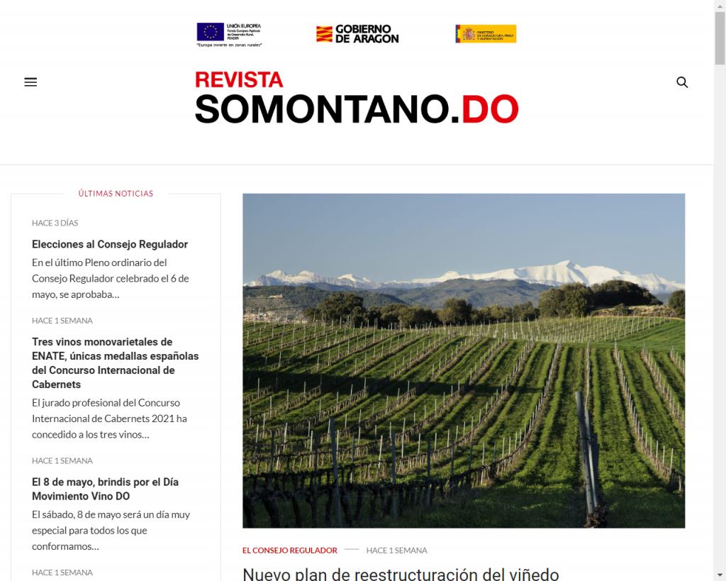 Revista Somontano online