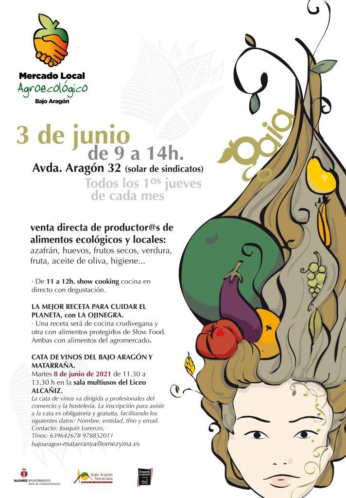 cartel junio2021 Mercado Alcañiz