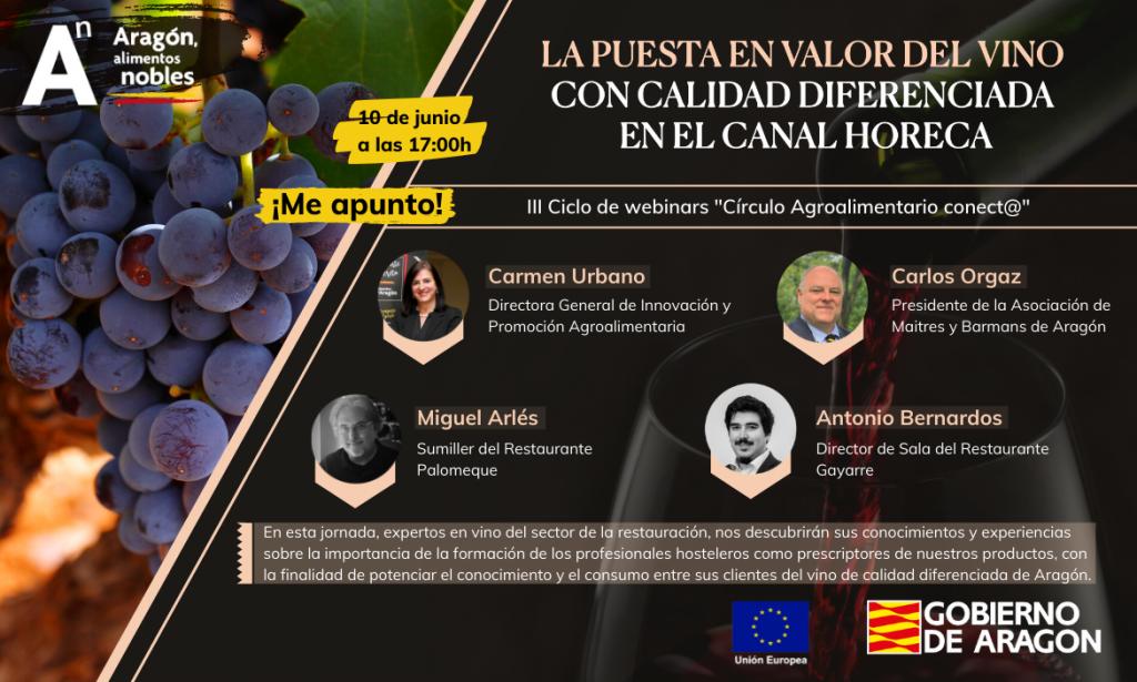 Webinar Alimentos de Aragón