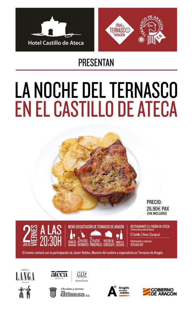 Ternasco de Aragón en el Castillo de Ateca