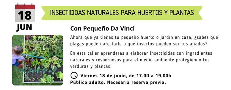 Insecticidas naturales para huertos