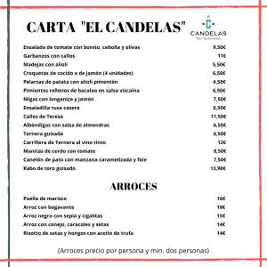 21-07 CANDELAS CARTA