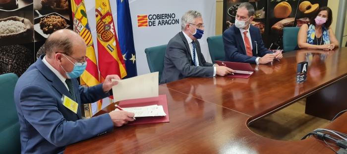 Firma convenio con Eroski