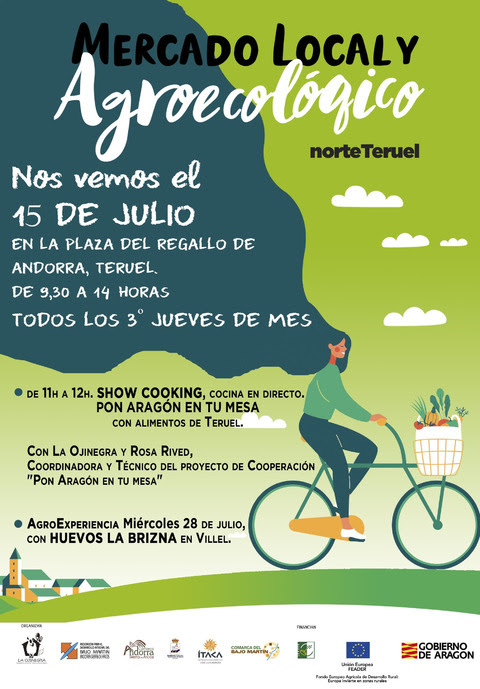 Mercado Agroecológico y Local Note de Teruel