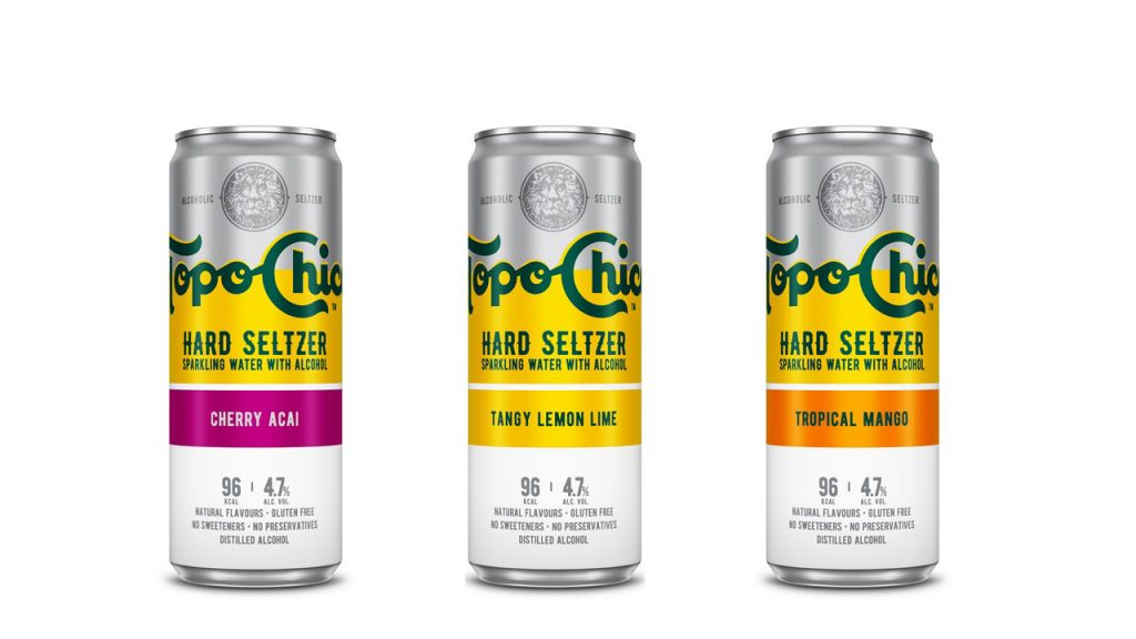 CAR Topo Chico Hard Seltzer 3 sabores