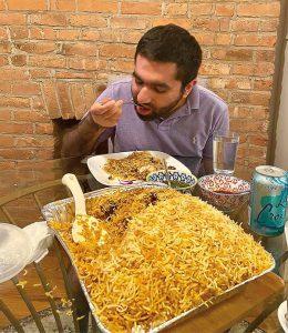 CUL GG Biryani pakistaní