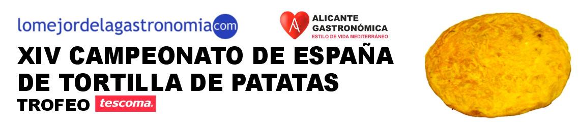 Crac, ganador de la V Liga de la Tortilla, compite en el nacional de Alicante