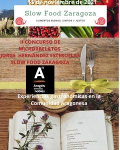 Cartel concurso Slow Food