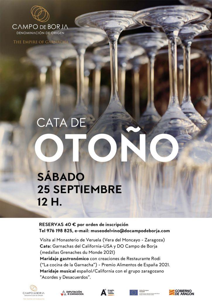 Cata de otoño - DOP Campo de Borja