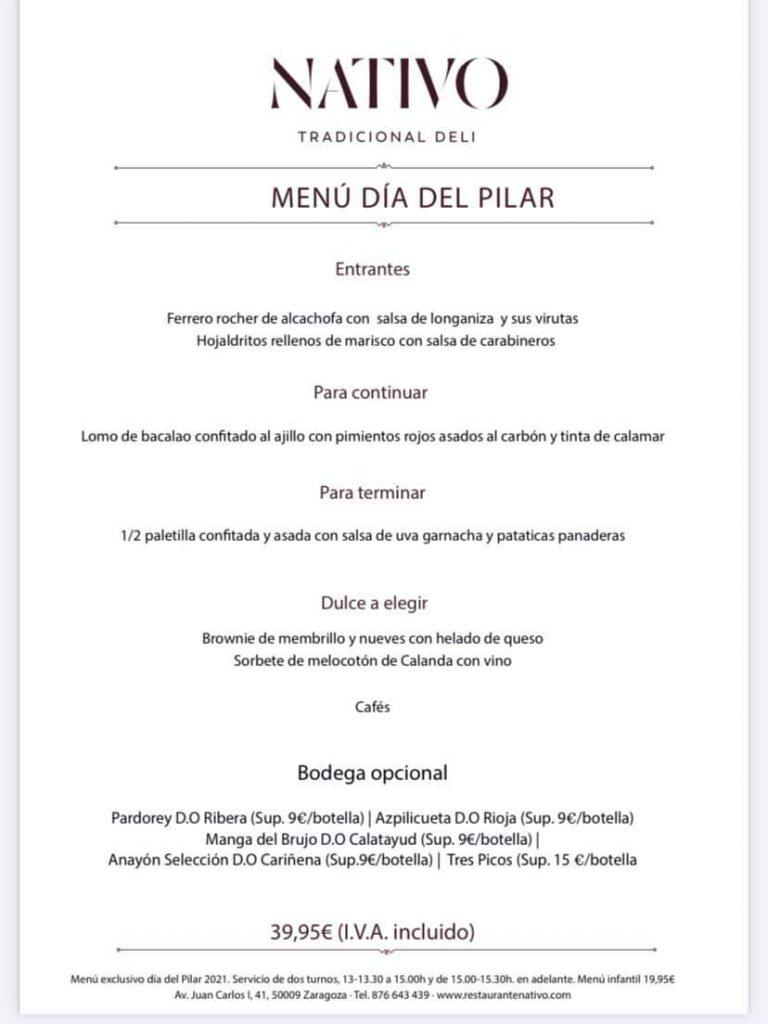 Día del Pilar- nativo