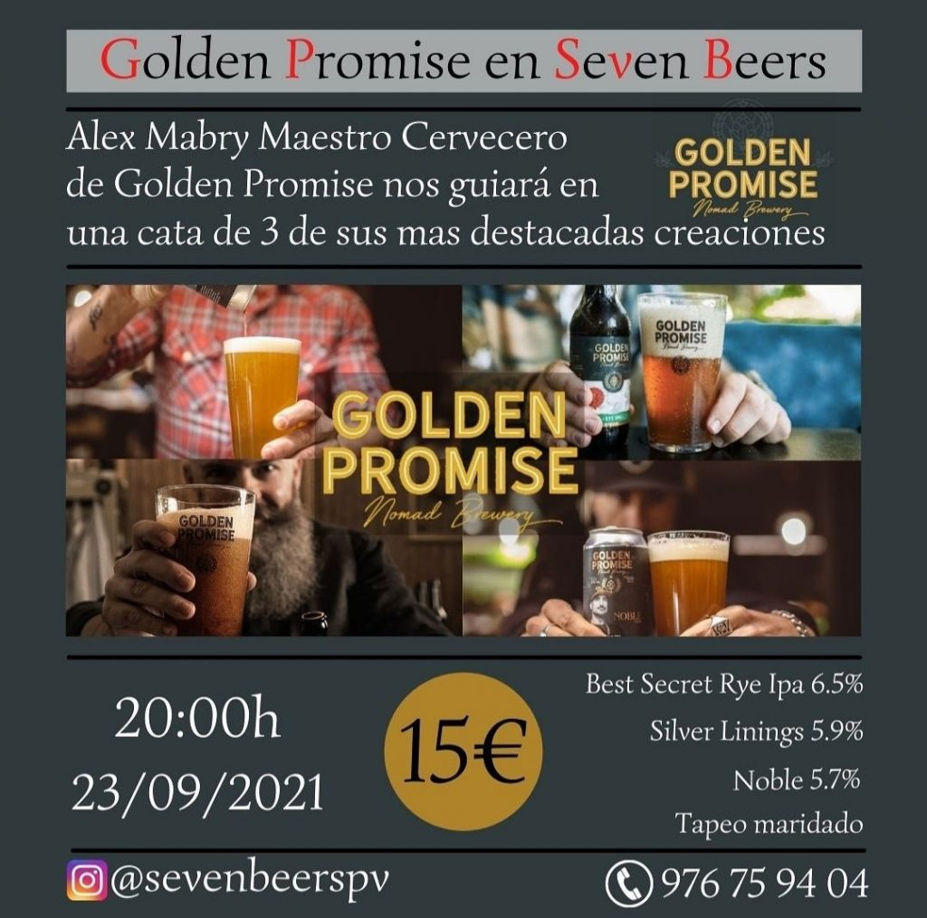 Cata Golden Promise - Seven Beers