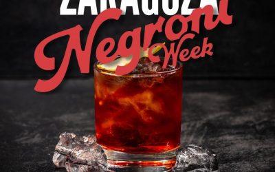 Negroni Week, el evento mundial que también se celebra en Zaragoza