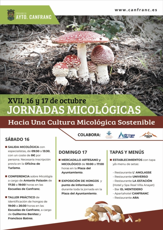 Jornadas micológicas de Canfranc