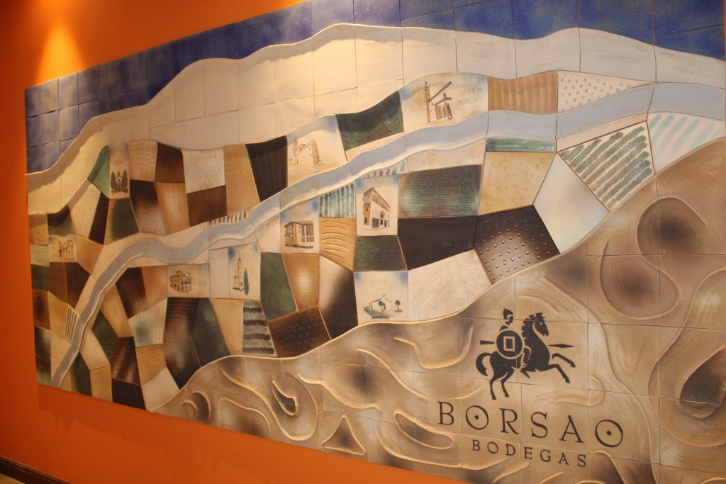 Borsao nueva bodega mural