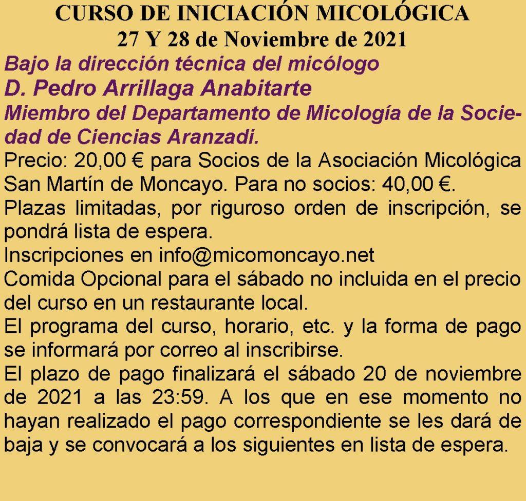 Curso de micología