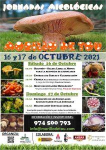 Programa Jornadas Micológicas 2021 - Morillo de Tou
