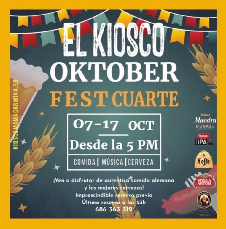 Oktoberfest cuarte